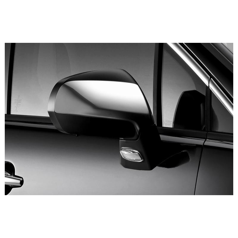 Set of 2 protection shells CHROME for exterior rear view mirrors Peugeot - 3008, 5008