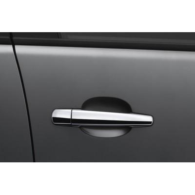 Juego de 4 empuñaduras de puertas cromadas Peugeot - 3008, 5008