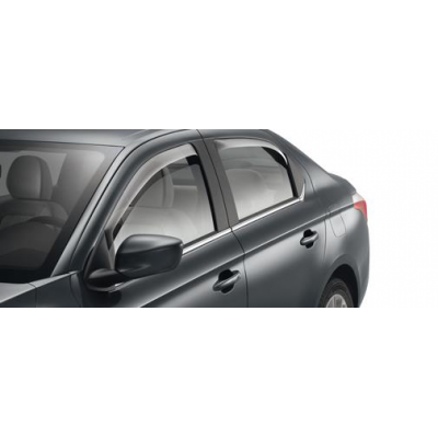 Set of 2 air deflectors for front doors Peugeot 301, Citroën C-Elysée