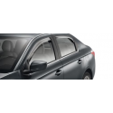 Set von 2 luftabweisern für hinteren Türen Peugeot 301, Citroën C-Elysée