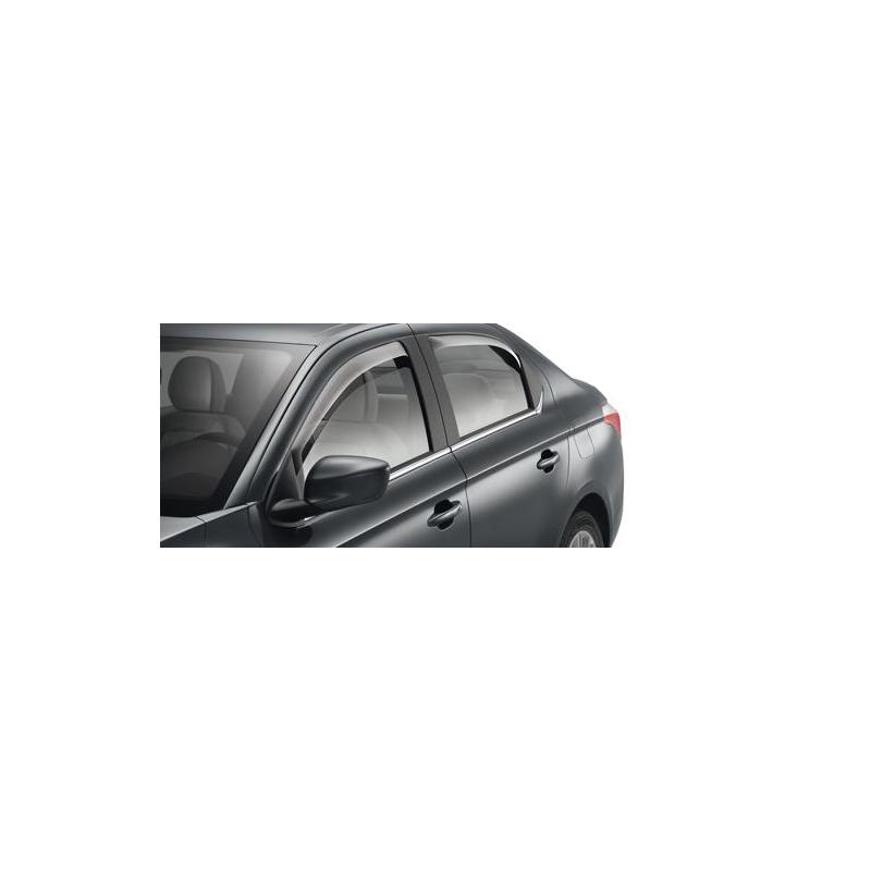 Serie di 2 deflettori dell'aria delle porte posteriori Peugeot 301, Citroën C-Elysée