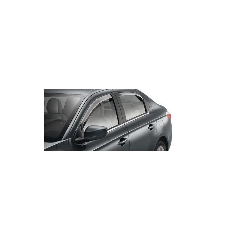 Set of 2 air deflectors for rear doors Peugeot 301, Citroën C-Elysée