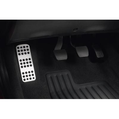 Aluminium footrest Peugeot