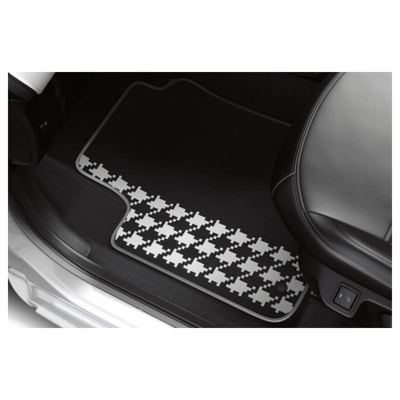 "Serie di tappetini in velluto ""DRESSY"" Peugeot 108"