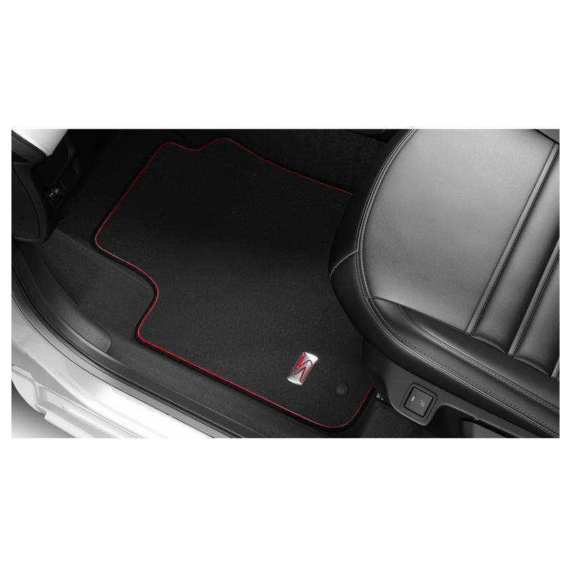 "Serie di tappetini in velluto ""LIGNE S"" Peugeot 108"