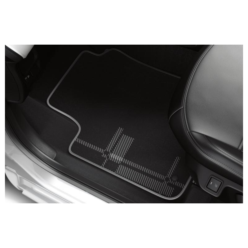 """Serie di tappetini in velluto """"KILT"""" Peugeot 108"""