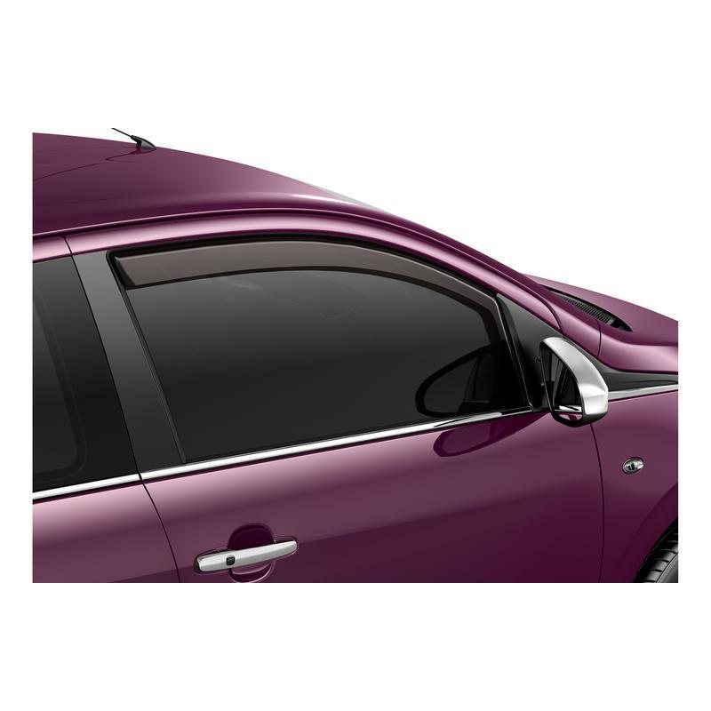 Serie di 2 deflettori dell'aria Peugeot - 108 5 Porte