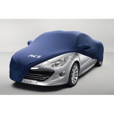 Schutzbezug zur fahrzeugpräsentation Peugeot RCZ