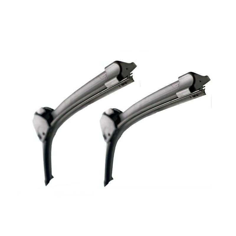 Set the front wiper blades - 207