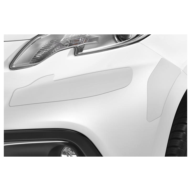 Serie di fasce di protezione per paraurti anteriore e posteriore Peugeot 2008
