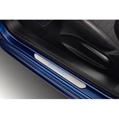 Chrániče prahů předních dveří Peugeot podsvětlené  - 208, 2008