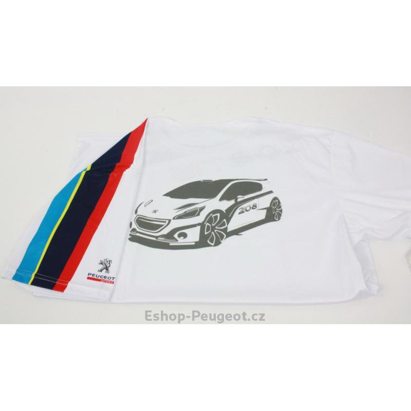 Tričko Peugeot Sport 208 T16  995309cc8de