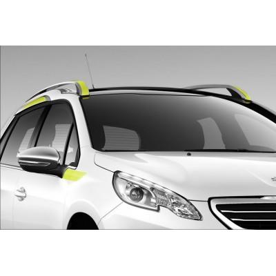 Bočné žlté polepy pre hornú zónu Peugeot 2008