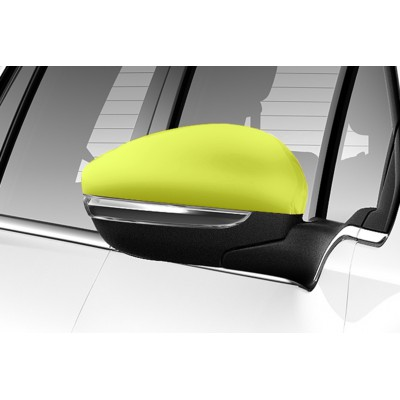 Sada žltých krytek vnějších zpětných zrcátek Peugeot 2008