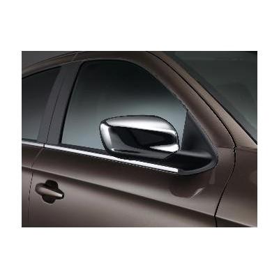 Satz von 2 Schutzschalen für Außenspiegel CHROM Peugeot 301