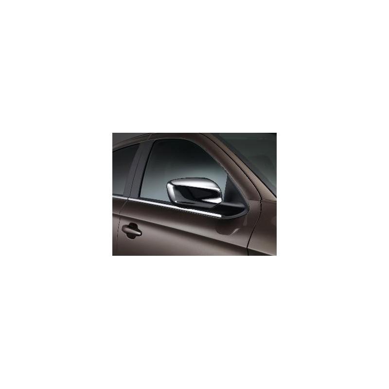 Sada krytov vonkajších spätných zrkadiel CHROM Peugeot 301
