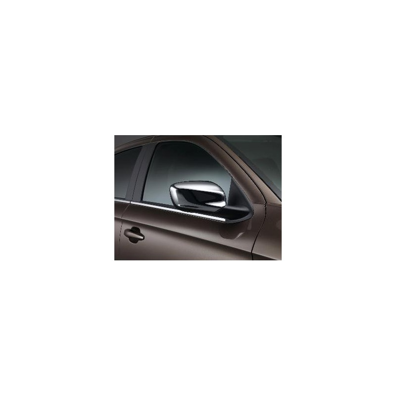 Serie di 2 gusci di protezione per retrovisori esterni CHROME Peugeot 301