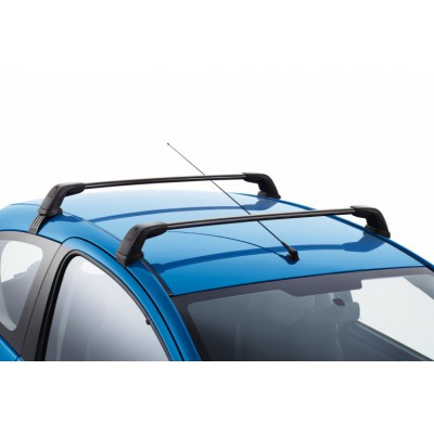 Set of 2 transverse roof bars Peugeot 107 3 Door