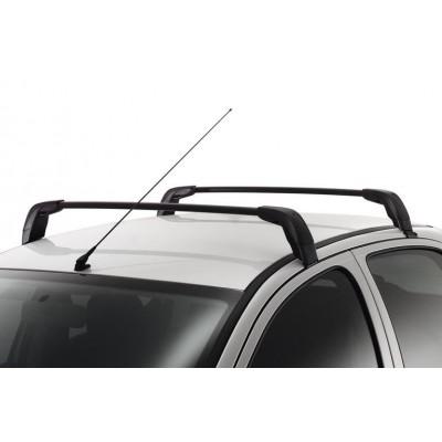 Serie di 2 barre del tetto longitudinali Peugeot - 206 5 Porte., 206 + 5 Porte