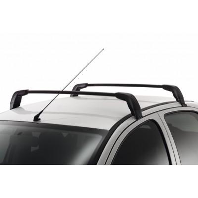 Juego de 2 barras de techo transversales Peugeot - 206 3 Puertas, 206+ 3 Puertas