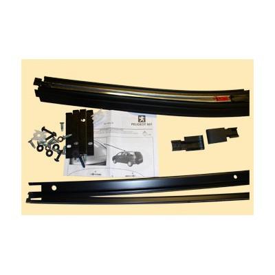 Kit de raíles longitudinales para barras de techo transversales Peugeot 807