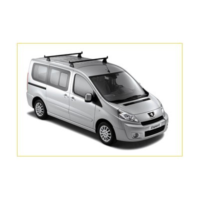 Juego de 2 barras de techo transversales Peugeot Expert (Tepee)