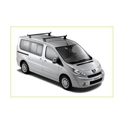 Serie di 2 barre del tetto trasversali Peugeot Expert (Tepee)
