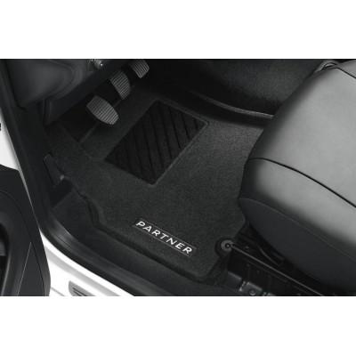 Serie di tappetini sagomati Peugeot Partner Tepee