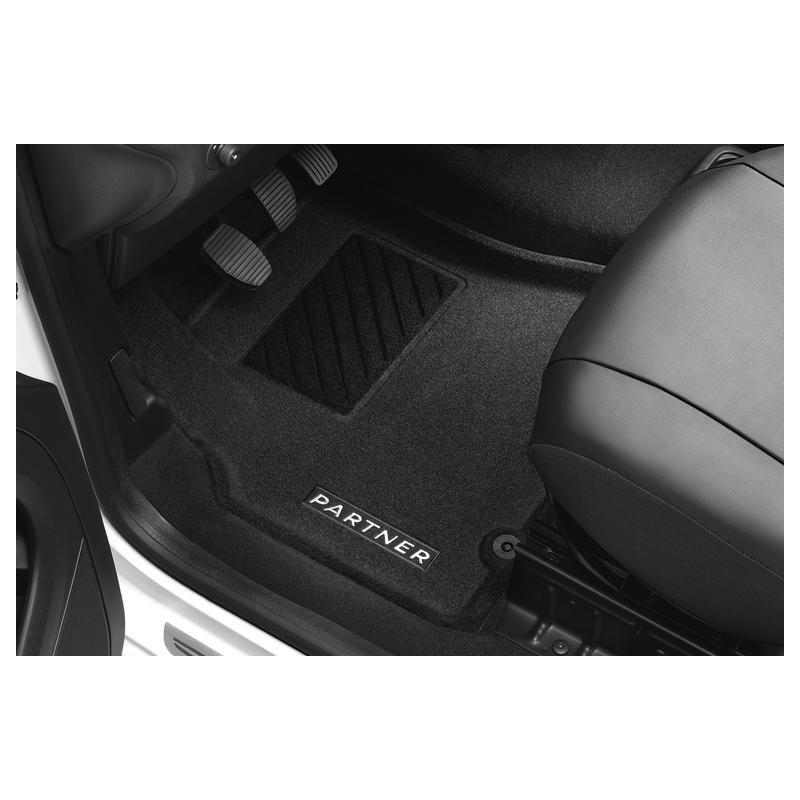 Set of formed mats Peugeot Partner Tepee