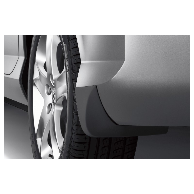 Rear mud flaps Peugeot - 407 - after facelift