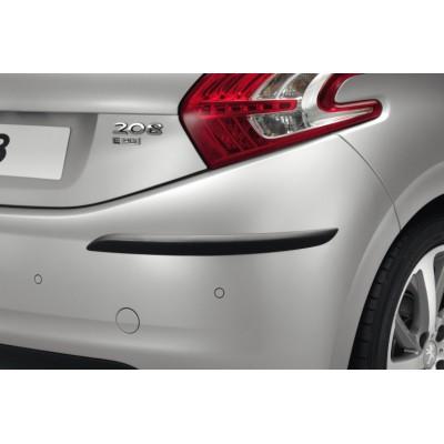 Ochranné lišty Peugeot pro zadní nárazník - 208