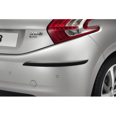 Set of 2 protection strips for rear bumper Peugeot 208