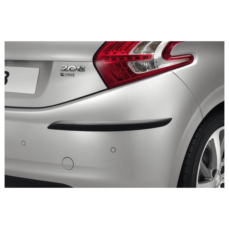 set of 2 protection strips for rear bumper peugeot 208 eshop. Black Bedroom Furniture Sets. Home Design Ideas