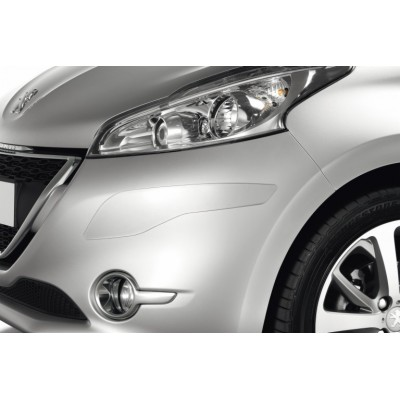 Set of protection cappings for front and rear bumpers Peugeot 208