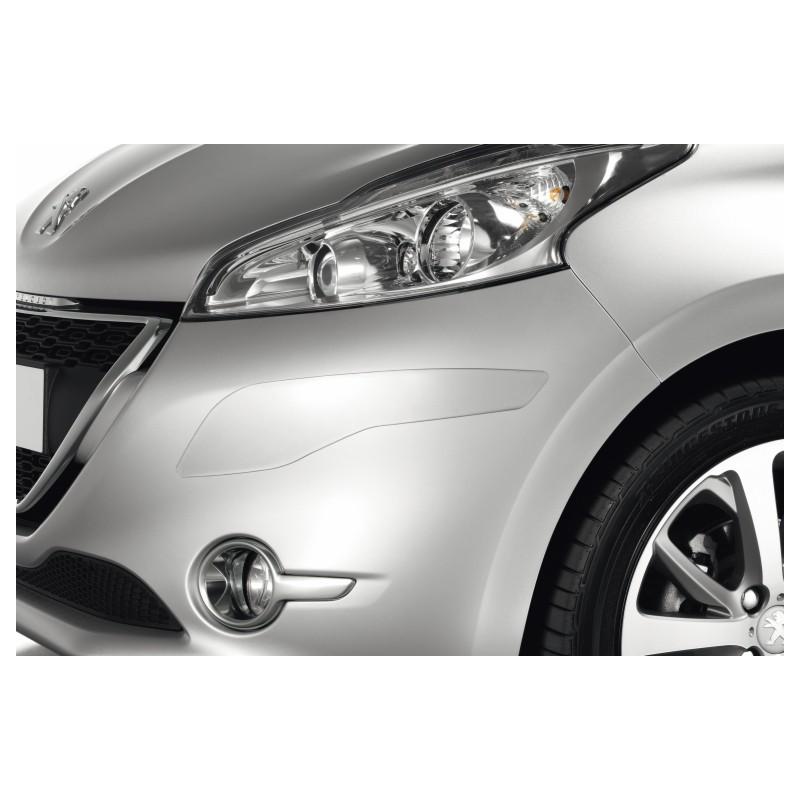 Satz Schutzleisten für Stoßfänger vorne und hinten Peugeot 208