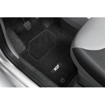 Prešívané autokoberce Peugeot 107