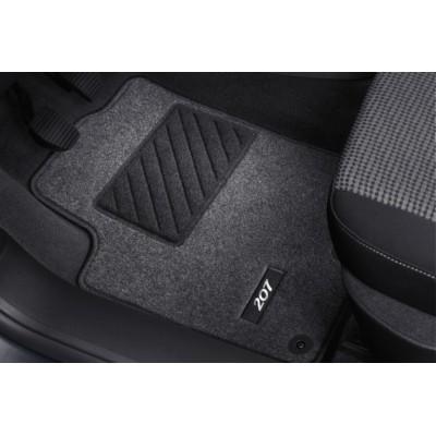 Serie di tappetini in moquette agugliata Peugeot - 207, 207 SW