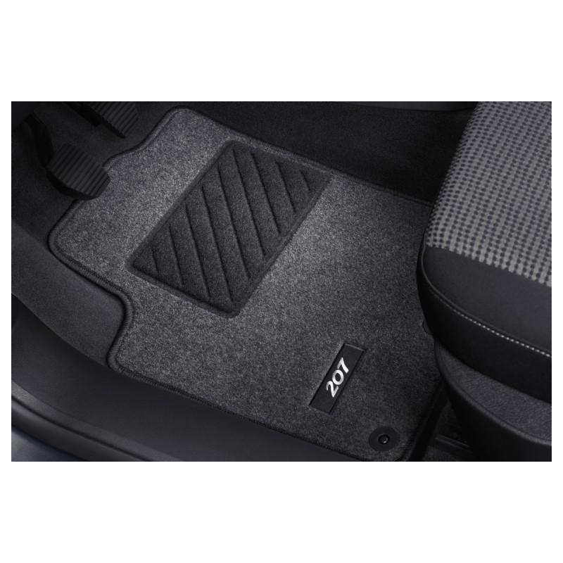Set of needle-pile floor mats Peugeot - 207, 207 SW