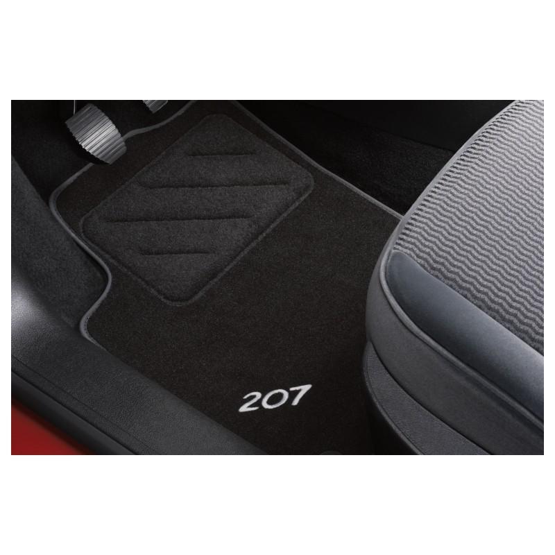 Set of velour floor mats Peugeot - 207, 207 SW | Eshop-Peugeot.cz