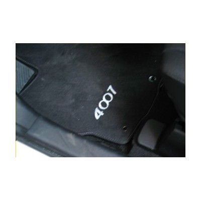 Serie di tappetini in velluto Peugeot 4007