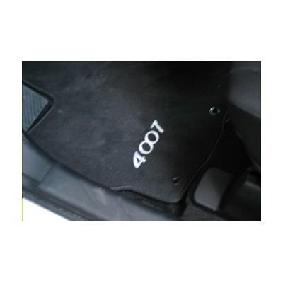Velúrové koberce Peugeot - 4007