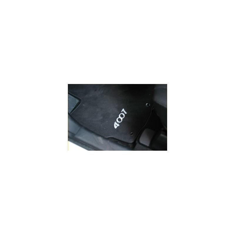 Velurové koberce Peugeot - 4007
