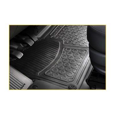 Set of rubber floor mats front Peugeot Boxer III