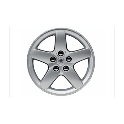 "Alloy wheel Peugeot QUASAR 17"" - 407"