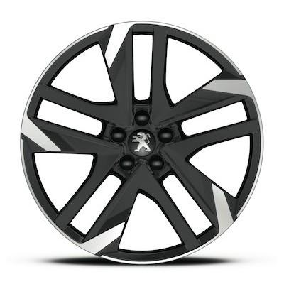 "Leichtmetallfelge Peugeot CARBONE GTi 19"" - 308 (T9)"
