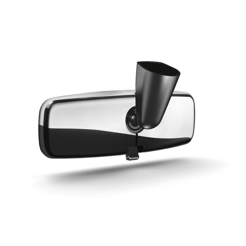 """Cover of the interior rear-view mirror """"shiny chrome"""" Peugeot - NEW 308"""