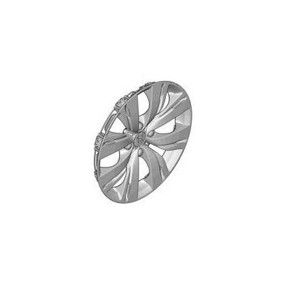 Peugeot hubcaps on the wheels CHROM 15""