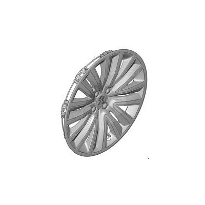 """Hubcaps on the wheels 16"""" Peugeot - 2008"""