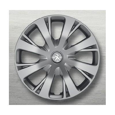 """Embellecedor de rueda NIOBIUM 15"""" Peugeot 208"""