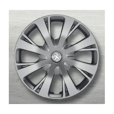 Peugeot hubcaps on the wheels NIOBIUM 15""